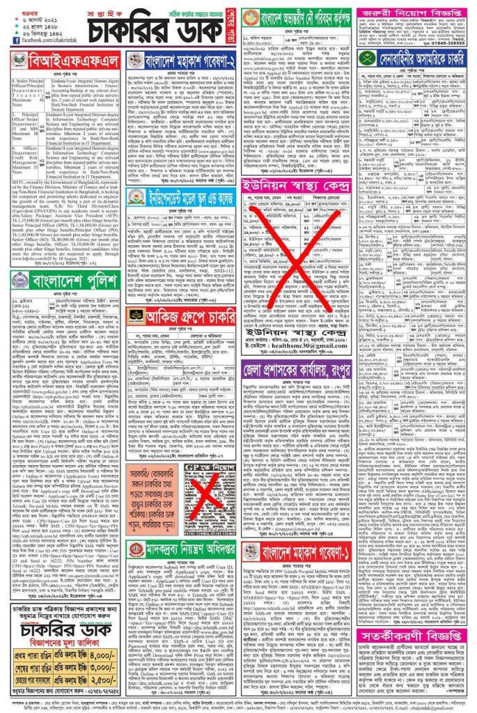 Weekly Job Newspaper bdjobspublisher.com 4